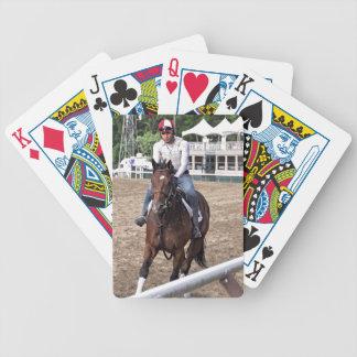 Rick Violette Morning Workouts at Saratoga Poker Deck