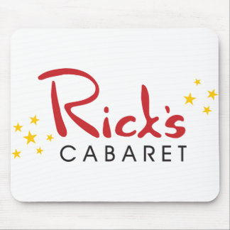 Rick's Cabaret Mouse Pad