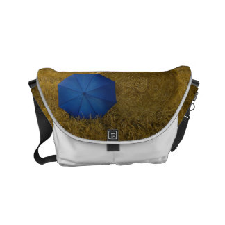 Rickshaw curing ashes - edition blue screen II Messenger Bags