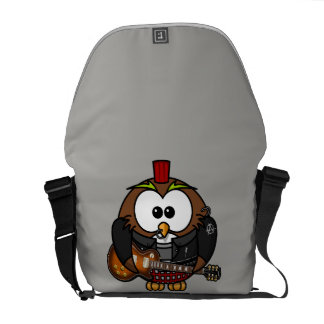 Rickshaw Messenger Bag Punk Owl