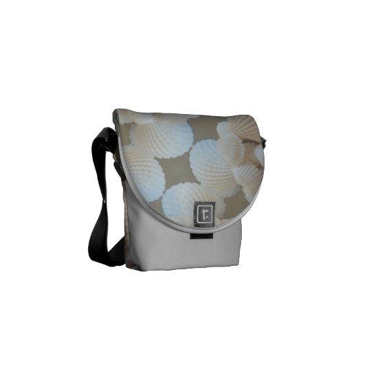 Rickshaw Messenger Bag, Sunny Summer Sea Shells Courier Bag