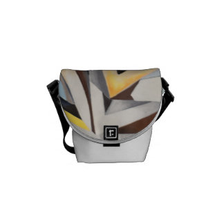 "Rickshaw messenger bag - ""United"""