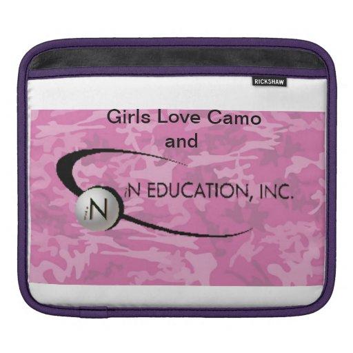 RickShaw Sleeve with iN Education Logo iPad Sleeve