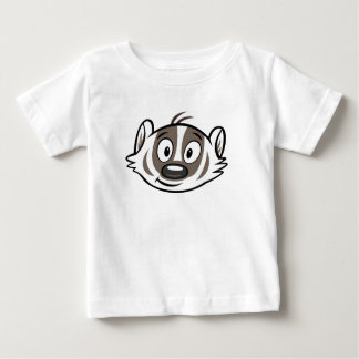 Ricky Raccoon | Boomer Badger Face Baby T-Shirt