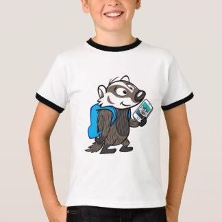 Ricky Raccoon   Boomer Badger Selfie T-Shirt