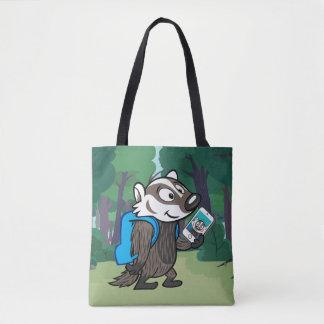 Ricky Raccoon   Boomer Badger Selfie Tote Bag