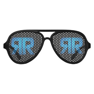 Ricky Rebel Black and Blue Sunglasses