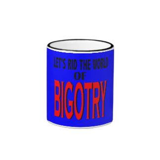 Rid the World of Bigotry Mug