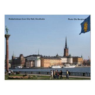Riddarholmen from City Hall, St... Postcard