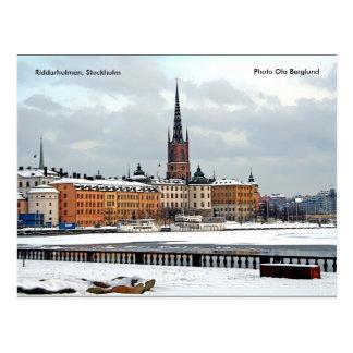 Riddarholmen, Stockholm, Photo O... Postcard