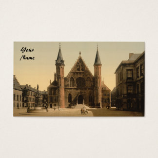 Ridderzaal (Knights' Hall), The Hague, Netherlands Business Card