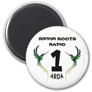 Riddim Roots Radio 1 Arda Fridge Magnet