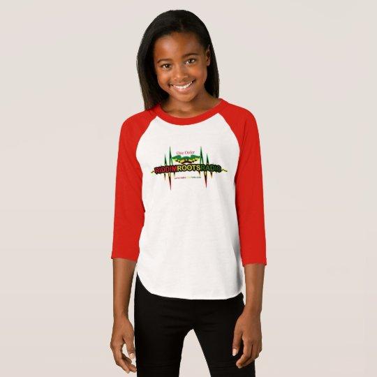 Riddim Roots Radio Girls 3/4 Sleeve Raglan T-Shirt