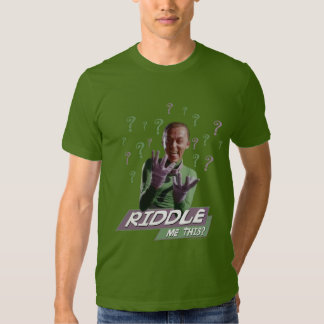 Riddler - Riddle Me This Tee Shirts