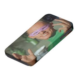 Riddler - Shrug Case-Mate iPhone 4 Cases