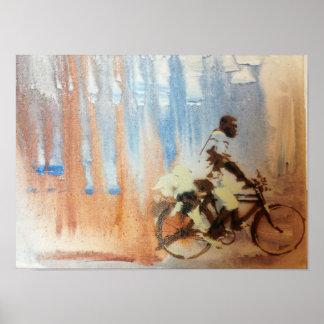 Ride a bike poster