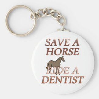 Ride a Dentist Key Ring