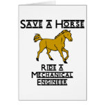 ride a mechanical engineer cards