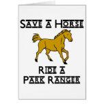 ride a park ranger cards