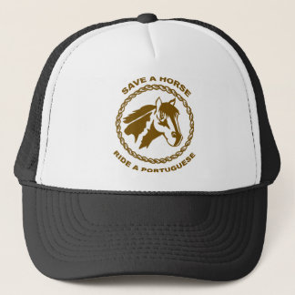 Ride A Portuguese Trucker Hat