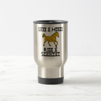 ride a scientist stainless steel travel mug