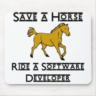 ride a software developer mousepads