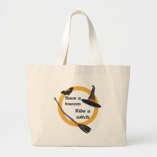 Ride a Witch totebag Bags