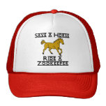ride a zookeeper cap
