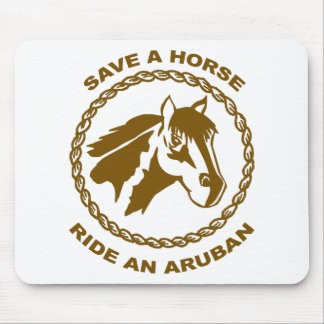 Ride An Aruban Mousepad