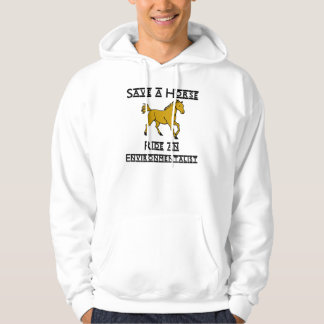 ride an environmentalist hoodie