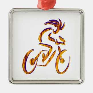 RIDE AND RHYTHM Silver-Colored SQUARE DECORATION