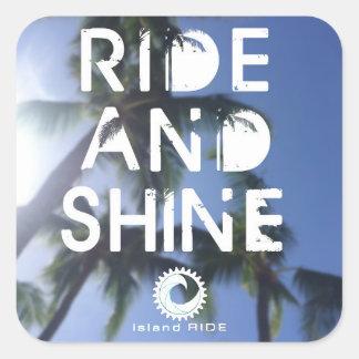 Ride and Shine sticker