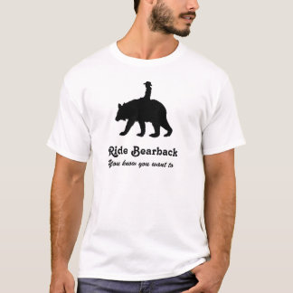 Ride bareback bear T-Shirt