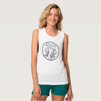 Ride Bicycles Not Elephants Tank Top
