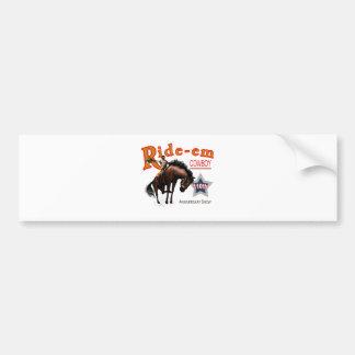 Ride-em Cowboy! Bumper Sticker
