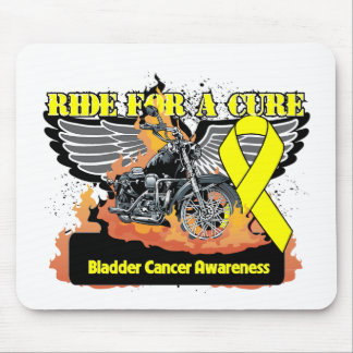 Ride For a Cure - Bladder Cancer Mouse Pad