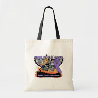 Ride For a Cure - Hodgkins Lymphoma Budget Tote Bag