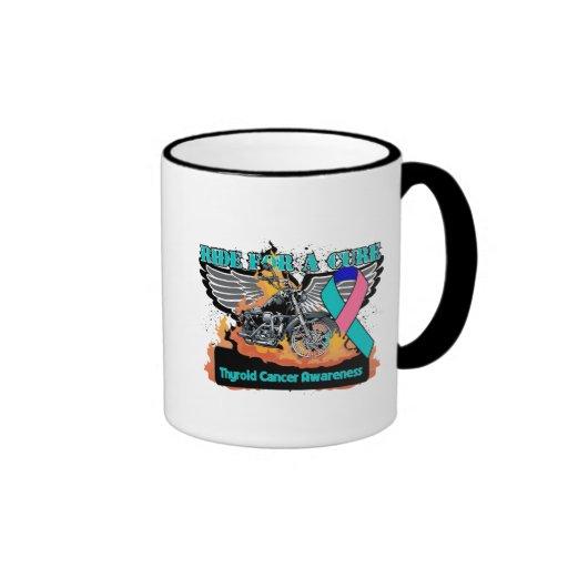 Ride For a Cure - Thyroid Cancer Coffee Mug