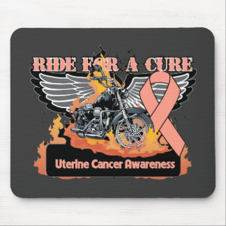 Ride For a Cure - Uterine Cancer Mousepad