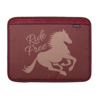 """Ride Free custom 13"""" MacBook sleeve"""