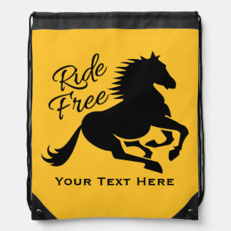 Ride Free custom color bag