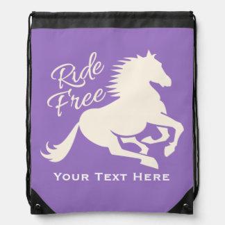 Ride Free custom color bag Backpack