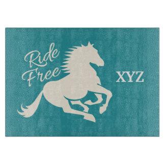 Ride Free custom color cutting board