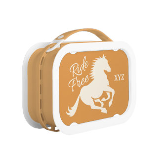 Ride Free custom color lunch boxes