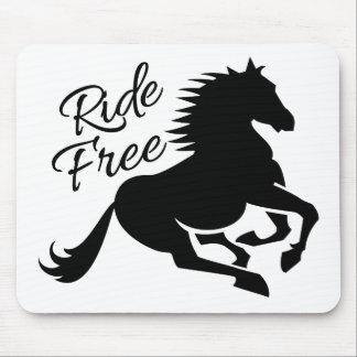 Ride Free custom mousepad