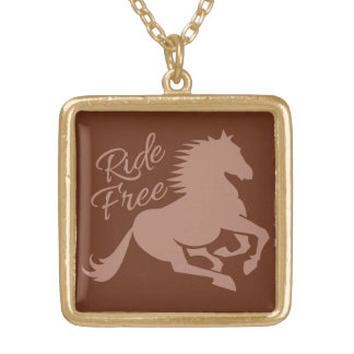 Ride Free custom necklace