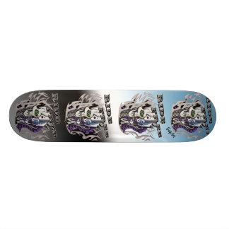Ride Free Skull Skateboard