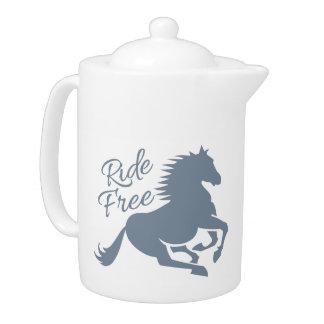 Ride Free teapot