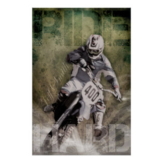 Ride Hard Posters