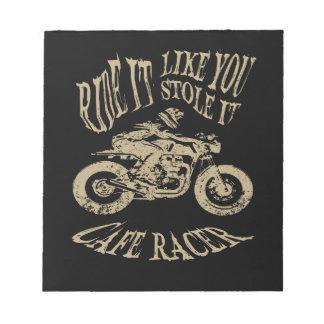 Ride It Notepad